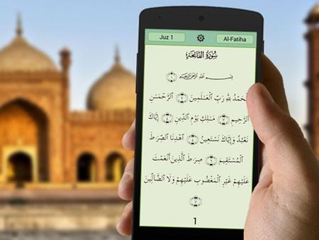 Hukum Baca Quran Melalui Hp