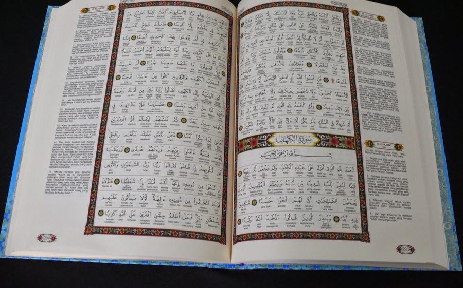 Menyentuh Al-Quran yang ada Terjemahnya