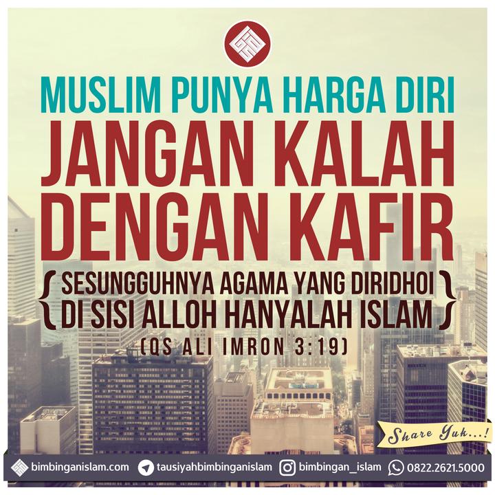 image dakwah muslim punya harga diri