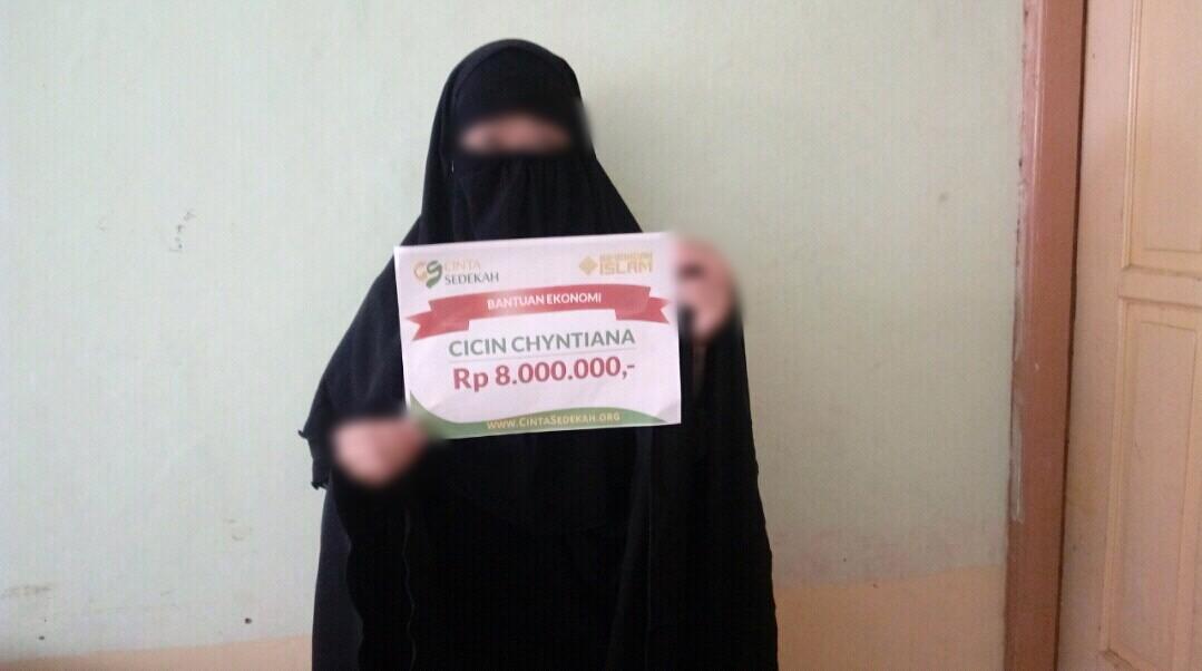 Santunan Zakat a/n Mbak Chintia Clarissa   Bimbingan Islam