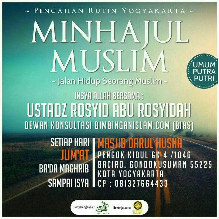 Kajian Kitab Minhajul Muslim