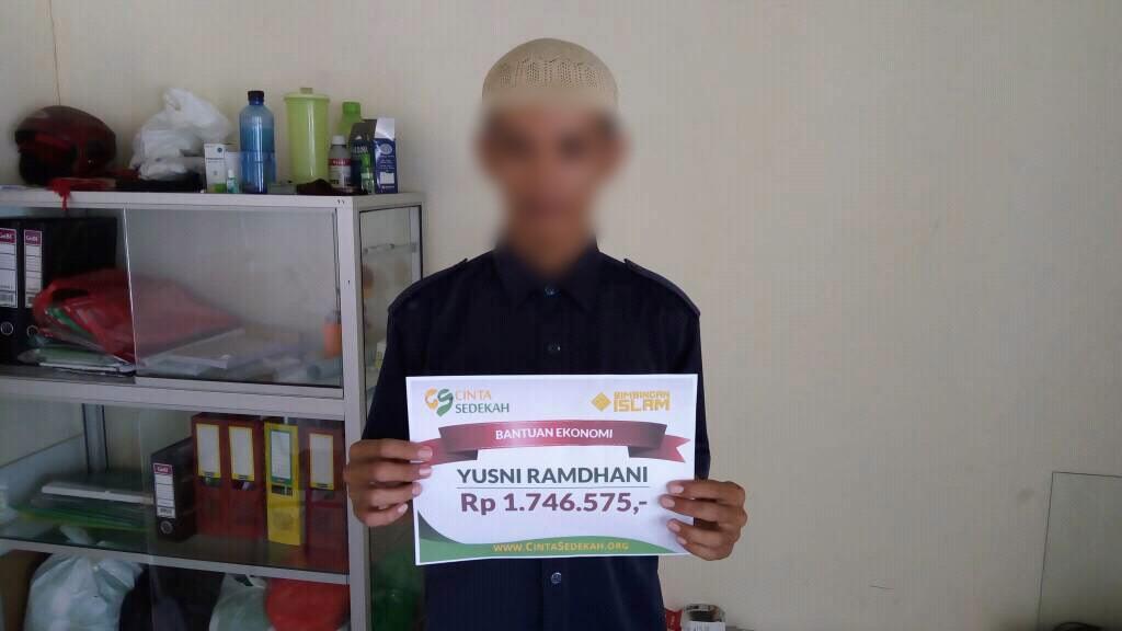 Santunan Kesehatan untuk Biaya Rawat Inap Anak dari Yusni Ramdhani