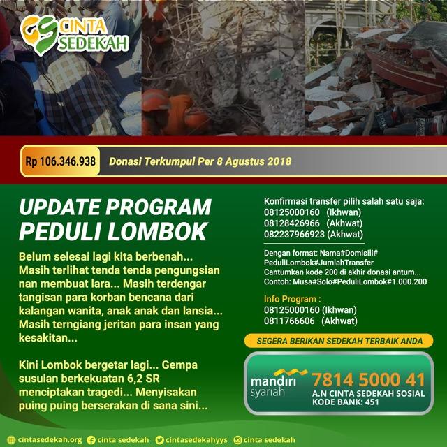 program peduli lombok