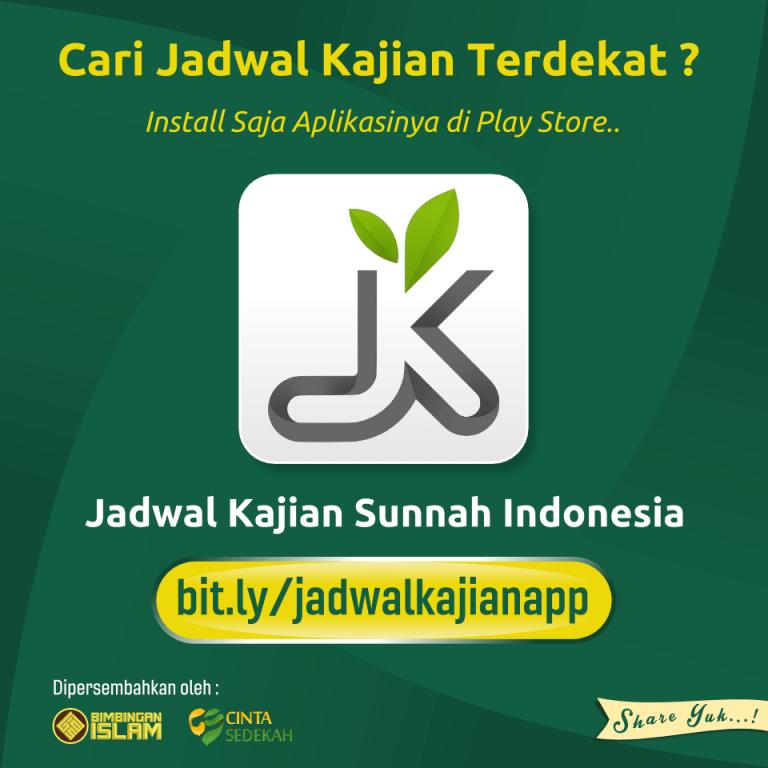 Aplikasi Jadwal Kajian Sunnah Indonesia