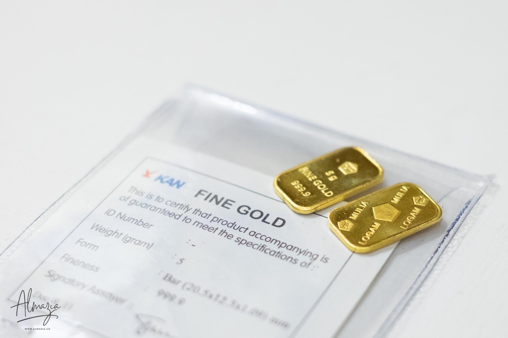 Bagaimanakah Hukum Membeli Emas yang Tidak Diserahkan di Konter Penjualan?