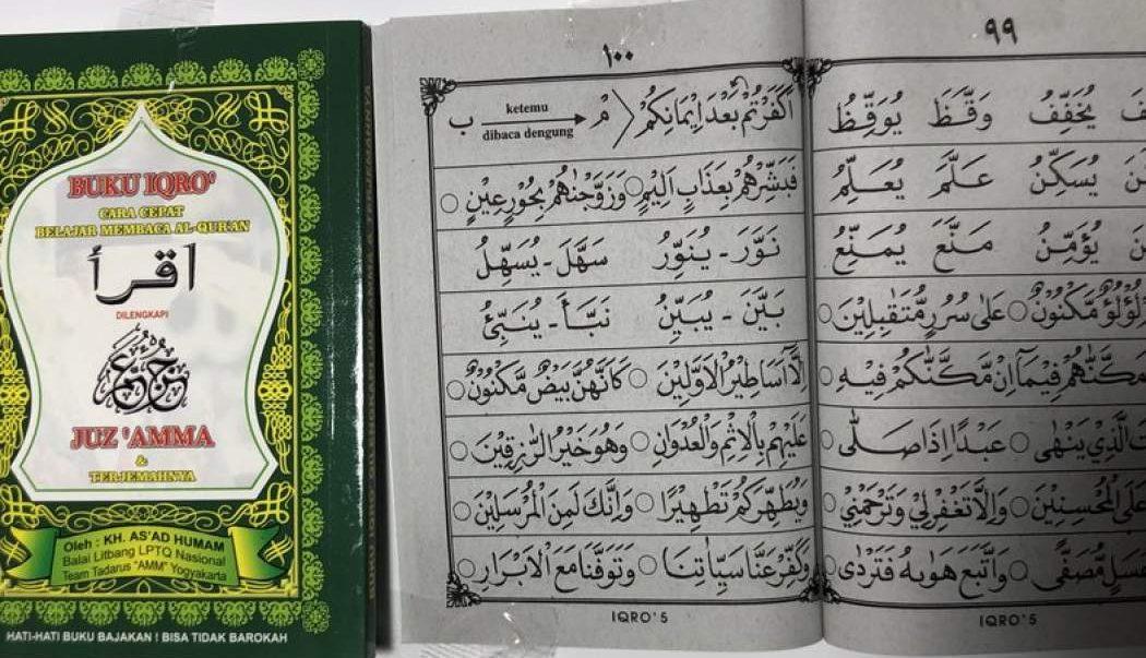 Apakah Iqro Termasuk Mushaf Al-Quran bimbingan islam
