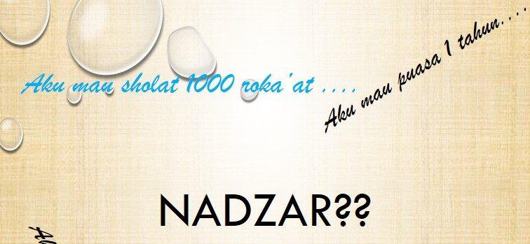 Nadzar untuk Lulus Ujian, Namun Tidak Lulus, Apakah Tetap Dilakukan Nadzarnya?