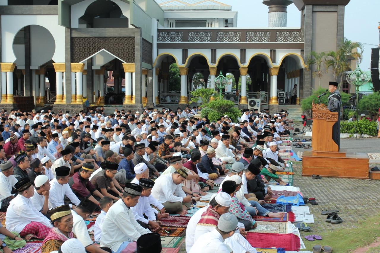 Bagaimana Cara Sholat Ied Saat Pandemi Corona bimbingan islam