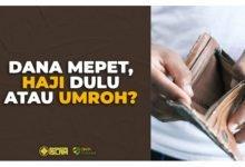 Dana Mepet, Haji Dulu atau Umroh